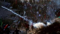 اشتباكات بين محتجين عراقيين وقوات الأمن وميناء أم قصر ما زال مغلقا
