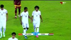 اليمن يفوز بثلاثية على سيرلانكا في التصفيات الآسيوية