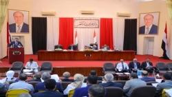 البركاني يعلن استئناف جلسات البرلمان اليمني من عدن