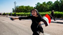 """إستجابة واسعة لدعوات الإضراب في العراق """"ماكو وطن ماكو دوام"""""""