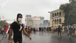 مصادر أمنية: قتيلان و38 مصابا في احتجاجات ببغداد