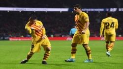 ميسي يقود برشلونة للفوز على أتليتكو وإستعادة الصدارة