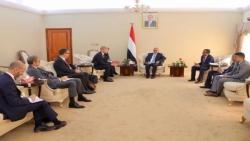 عدن: محافظ البنك يلتقي الوفد الأوروبي ويؤكد على تحمل المجتمع الدولي المسؤولية تجاه إجراءات الميليشيات