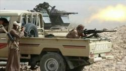 وسط قصف طائرات الأباتشي.. قبائل المهرة تحبط محاولة القوات السعودية اقتحام منفذ شحن الحدودي