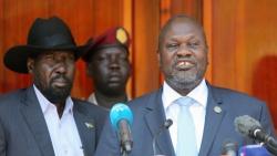 زعيم المتمردين السابق بجنوب السودان يؤدي اليمين نائبا أول لرئيس البلاد