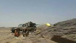 الجيش الوطني يسيطر على مواقع عسكرية في الجوف