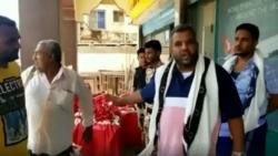 إيقاف شحنة كمامات طبية في عدن كانت في طريقها للتصدير للخارج