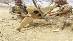 حجة.. الجيش يحرر التباب السود في حرض ويسقط مسيرة حوثية
