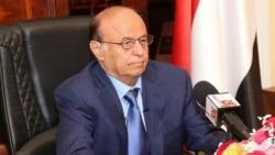 الرئيس هادي يوجه الحكومة بسرعة معالجة أضرار السيول في عدن