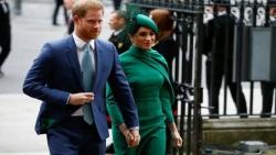الأمير البريطاني هاري وزوجته ميجان يودعان حياة الملوك
