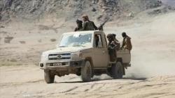الجيش الوطني يستعيد معسكر اللبنات في الجوف