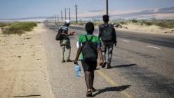 """""""الهجرة الدولية"""": 7 آلاف مهاجر أفريقي وصلوا اليمن خلال النصف الأول من العام الجاري"""