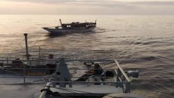 المهرة : السفينة غزال تصل ميناء نشطون وجميع من كانوا على متنها بصحة جيدة