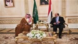 ناقشا المستجدات وسبل تنفيذ اتفاق الرياض.. رئيس الجمهورية يستقبل نائب وزير الدفاع السعودي