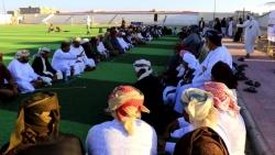 إجتماع قبلي موسع في الغيضة لفض النزاعات والقضاء على الثأرات