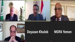 وزير الخارجية يبحث مع الأمين العام للجامعة العربية تطورات الأوضاع في اليمن والمنطقة العربية