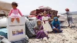 المنظمات تطالب بحماية النازحين والمدنيين في مأرب