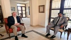وزير الكهرباء يبحث مع السفير الأمريكي سبل تطوير الكهربائية في اليمن