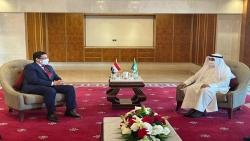 وزير الخارجية وأمين عام مجلس التعاون الخليجي يبحثان التعاون بين اليمن و دول المجلس