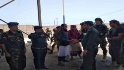 وزير الداخلية يزور محافظة المهرة للاطلاع على واقع الاجهزة الأمنية بالمحافظة