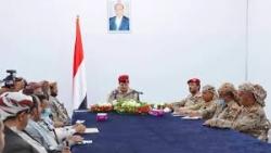 اجتماع لقيادة الدفاع ومحافظي المحافظات لمناقشةالمستجدات والتطورات وسير العمليات في الجبهات
