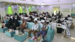 المساحة الآمنة للنساء والفتيات بالغيضة تقيم حفل توزيع 30 حقيبة تمكين اقتصادي في الخياطة والتجارة